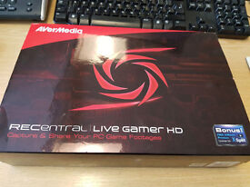 AVerMedia Live Gamer HD (C895) 1080p With USB Hot Button