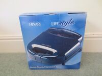 HiNARi Lifestyle Double Toasted Sandwich Maker