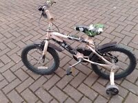 Kids bike in riding condition