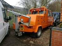 Iveco ford 6 tonne spec lift recovery truck mot exempt very clean unabused