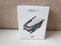 New DJI Mavic Air Quadcopter 4K Camera Drone Onyx Black - Sealed in Box