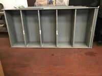 Metal Shelving x 18 Bays