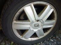 205/60 x16 tyres on renault alloys