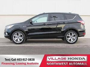 2017 Ford Escape Titanium 4WD   No Accidents   One Owner  