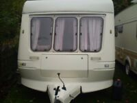 2 berth fleetwood touring caravan