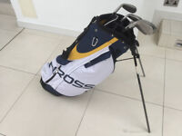 Set of 7 Benross irons and golf bag - unused