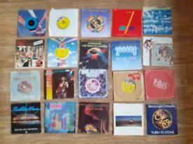 20 x electric light orchestra vinyl singles
