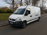 2007 VAUXHALL MOVANO 3500 CDTI Long Wheel Base, High Top (2.5 Diesel)