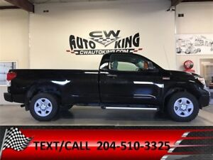 2013 Toyota Tundra 5.7L V8 / Regular Cab / 4x4 / 8ft. Box (A6)