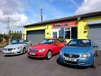 WELL PRESENTED FAMILY RUN USED CAR DEALERSHIP IN BRISTOL. TURNOVER £500,000. SELLING 12 CARS A MONTH