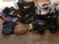 REDUCED Job lot of holdalls, gym bags, rucksack, new will suit market trader or online trader