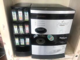 Hot drinks dispenser coffee/tea/hot chocolate etc