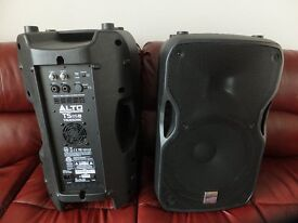 Alto Truesonic TS115A Powered speakers