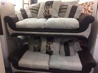 Pair of 3 Seater Sofas
