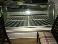 5ft refrigerated serve over cabinet