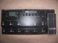Line 6 POD HD500X – Multi Effects Processor & Amp Emulator for Guitar , Bass and Vocal.