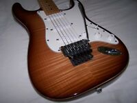 Warmoth USA Super Strat. Top Spec available direct from Warmoth! Mint!