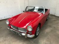 Early 1969 MG Midget 1275cc. 12 Months MOT. Tax Exempt.