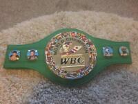 WBC WORLD TITLE BOXING CHAMPIONSHIP BELT