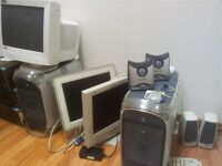 Dell WINDOWS XP MACHINES, MAC G4, LASER PRINTERS - WORKING OR FOR SPARES