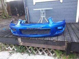 For sale 2004 subaru impreza blobeye front bumper 02c blue £50