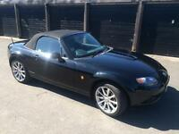 Mazda MX-5 2.0 Sport 2dr in Black with Black Leather