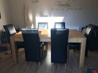 Large Dining Room Table (+ 6 chairs free of charge)