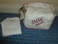 Imse Vimse washable nappies and one wrap, excellent condition