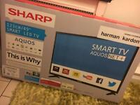 "SHARP AQUOS 49"" SMART FULL HD 1080p LED TV BRAND NEW"