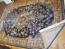 Wool Persian style carpet rug 182 x 285 cm £150 ono
