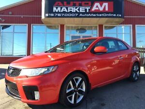 2011 Kia Forte Koup 2.4L SX, Sunroof, Leather, WE APPROVE ALL CR
