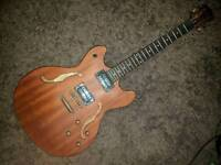 Washburn HB32 (Distressed Matte) Hollow body