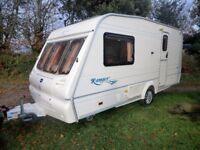 Bailey Ranger 2 berth 460/2L touring caravan 2004 great condition end shower room