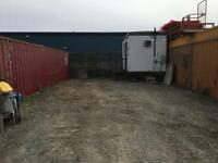 Construction yard for lease With Power and office