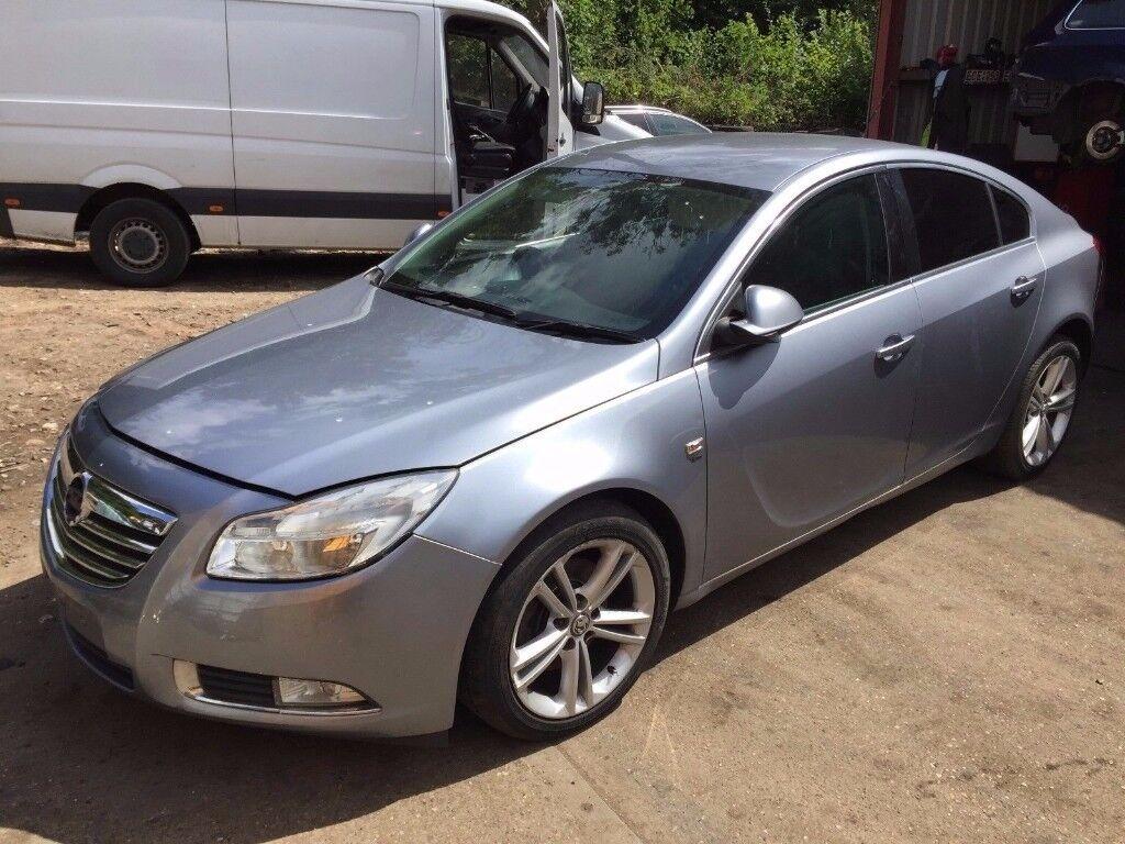 Vauxhall Insignia Hatchback 2008-2013 2.0 CDTi 16v SRi 5dr silver indicator breaking