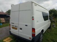 Ford, TRANSIT, Camper Van, 2005, Manual, 2402 (cc)