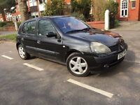 RENAULT CLIO DYNAMIQUE DCI 65 WELL MAINTAINED £30 ROAD TAX