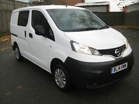 Nissan NV200 DCI ACE 5 Seater Full Service History One Owner AA Breakdown Used Van Sales