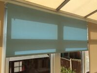 5 roller blinds for sale either all together or individually
