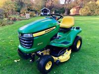 John Deere X300 Ride on Mower - Mulch Deck - Lawnmower - Countax/Kubota/stiga