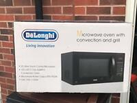 DeLonghi microwave, convection oven & grill