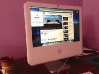 "Apple iMac 17"" A1173 Intel Core Duo running Snow Leopard"