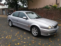 2003 JAGUAR X TYPE 2.1 V6 AUTO MET SILVER,LOW MILES,CLEAN CAR,GREAT VALUE