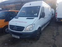 MERCEDES SPRINTER 511 CDI FRIDGE LWB TWIN WHEELER 2007REG FOR SALE