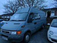 Iveco daily 2.8 self build motorhome