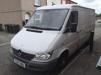 MERCEDES SPRINTER 2.2 CDI MWB TAX AND MOT RUNS AND DRIVES WELL
