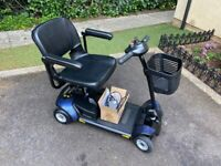 1/2 price, Pride GoGo Elite Traveller Mobility Scooter, Hardly used, New batteries, Free delivery