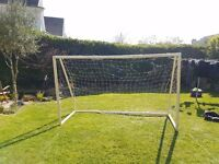 Plastic Goal Posts 6ft by 11ft - Needs new net!