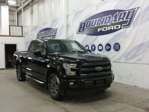 "2017 Ford F-150 Lariat Sport W/ 5.0L V8, Leather, 18"" Rims"