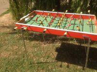 Rod football table